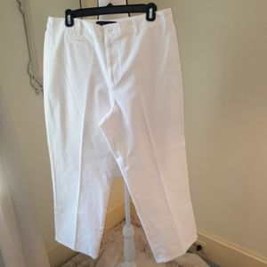 Ralph Lauren white chino pants sz 14